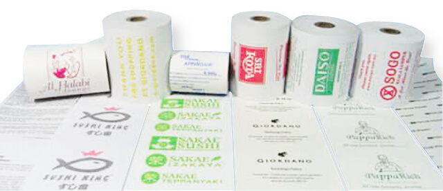 Pre-printed Paper Roll