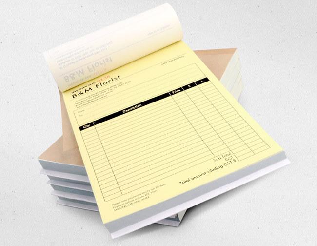 Invoice / NCR Book Printing