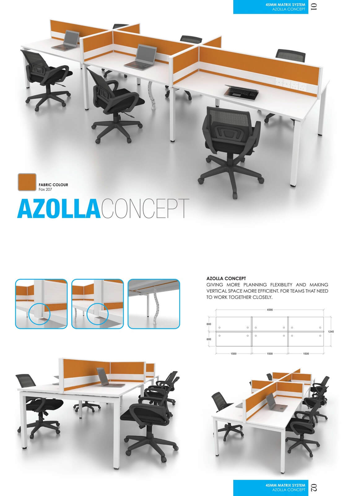 Office Workstation Azolia Concept