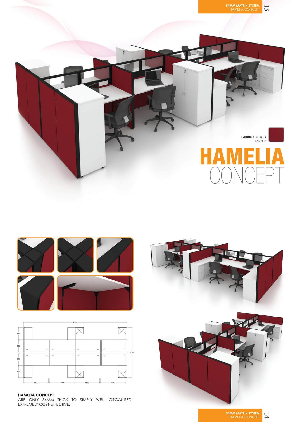 Office Workstation Hamelia Concept