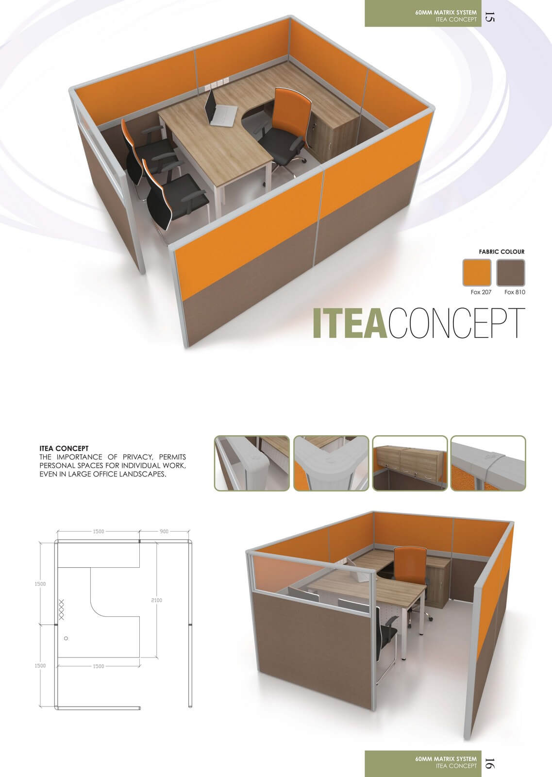 Office Workstation Itea Concept