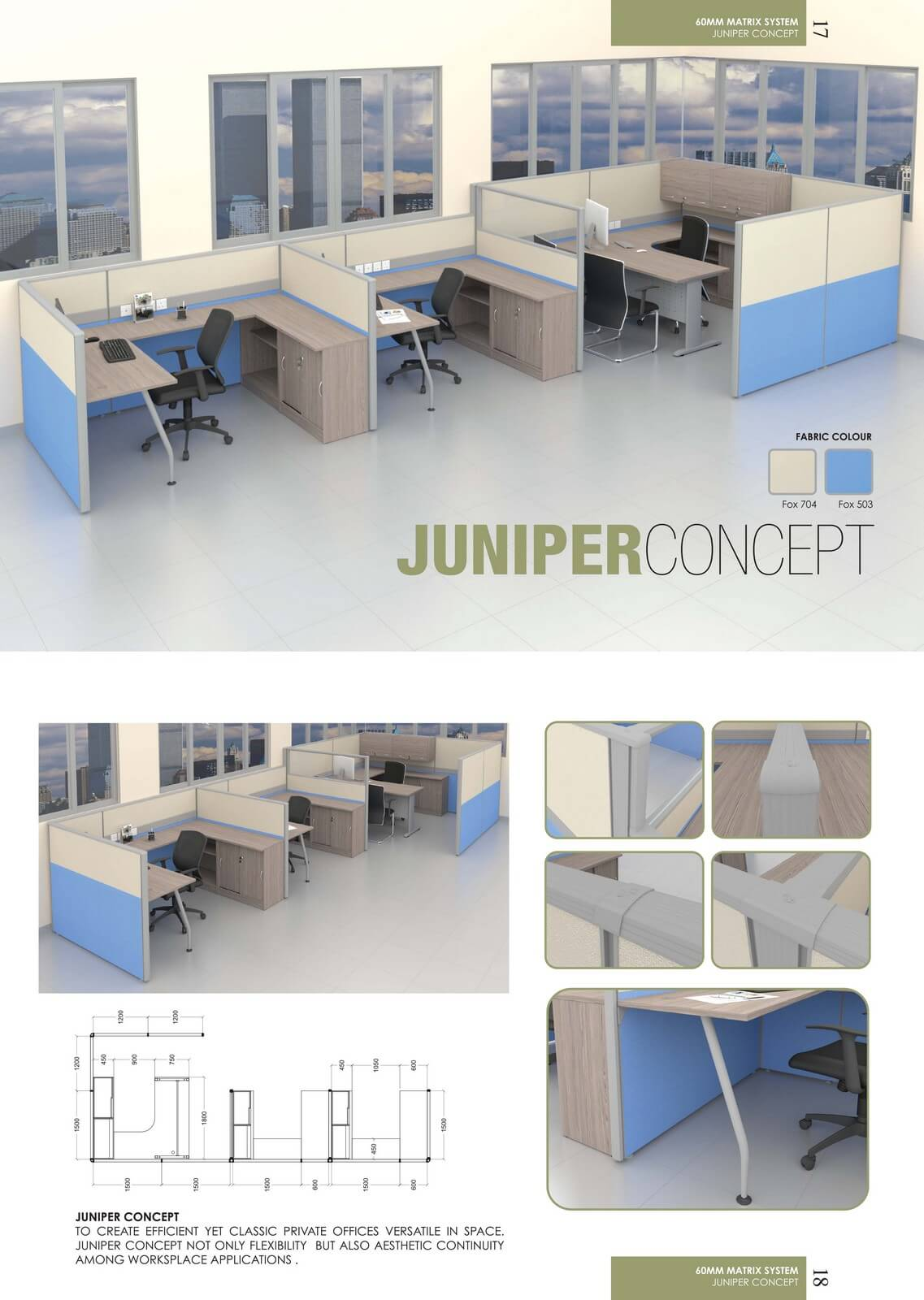 Office Workstation Juniper Concept