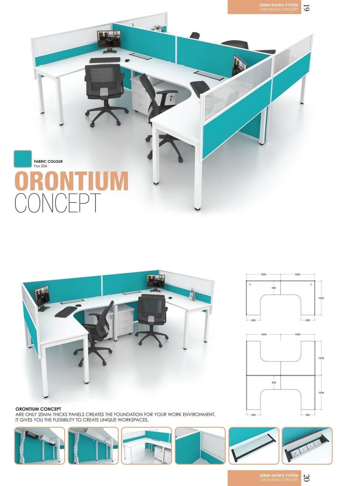 Office Workstation Orontium Concept