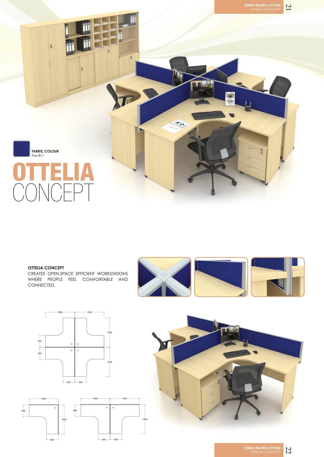 Office Workstation Ottelia Concept