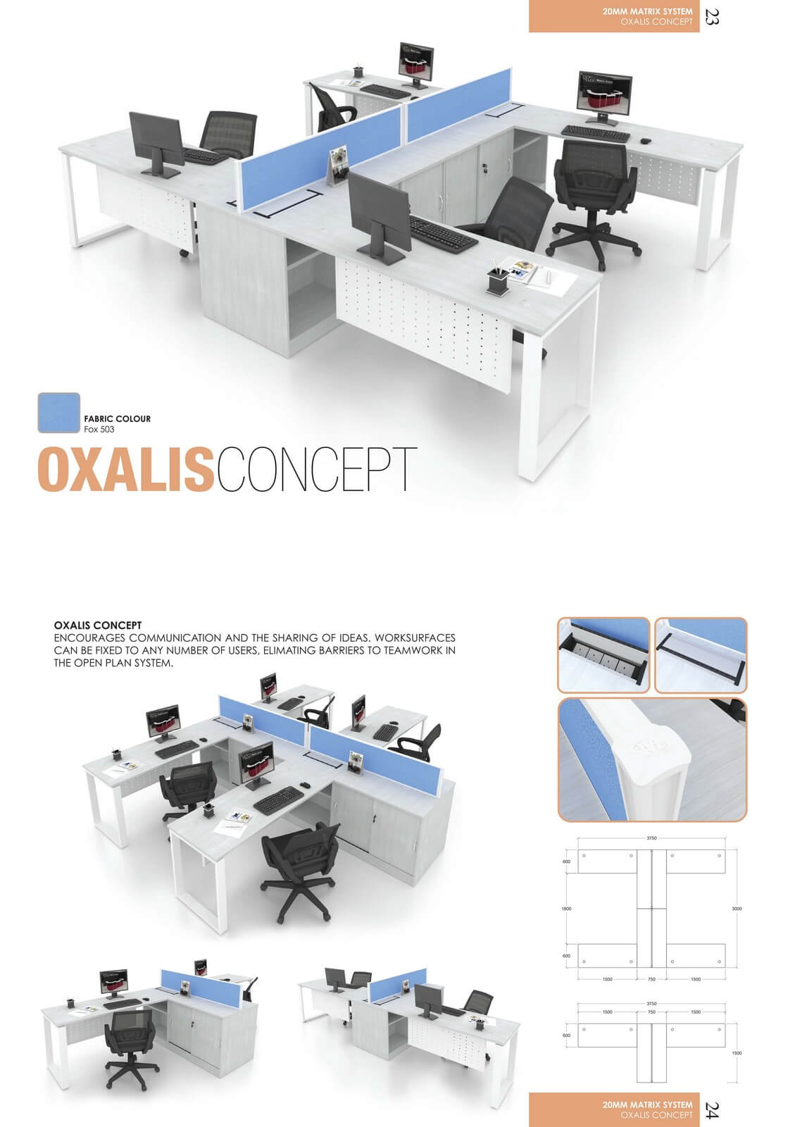 Office Workstation Oxalis Concept
