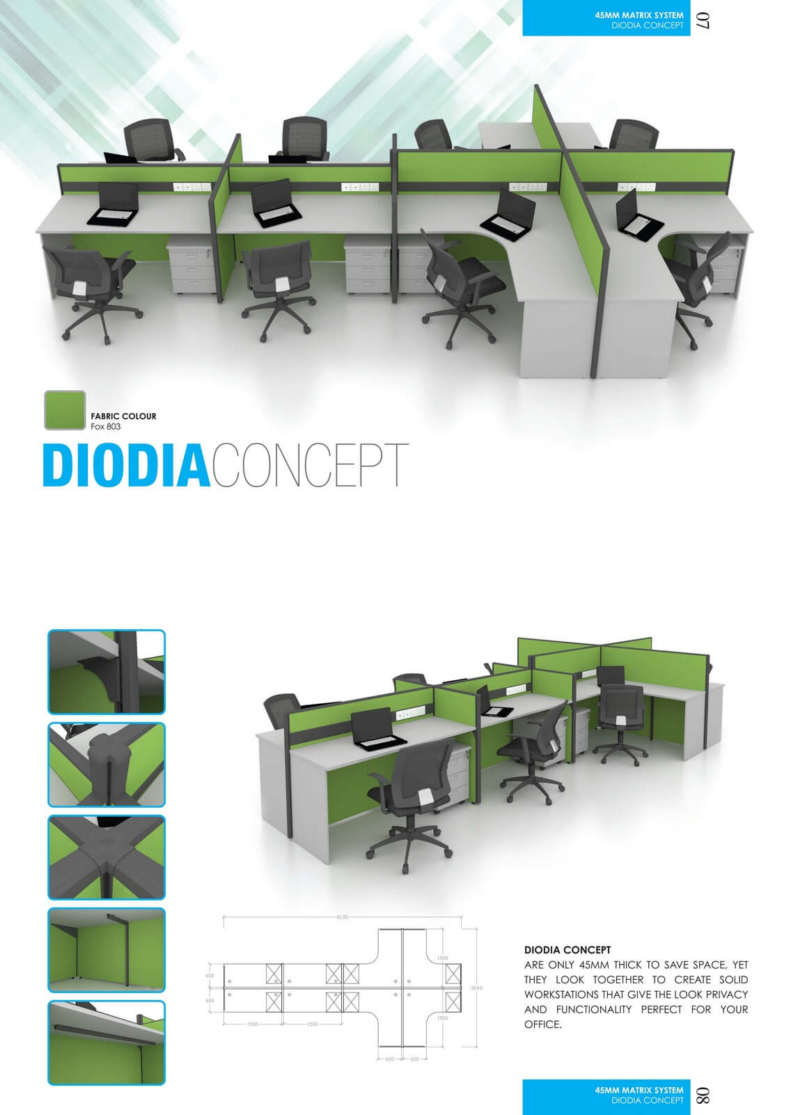 Office Workstation Diodia Concept