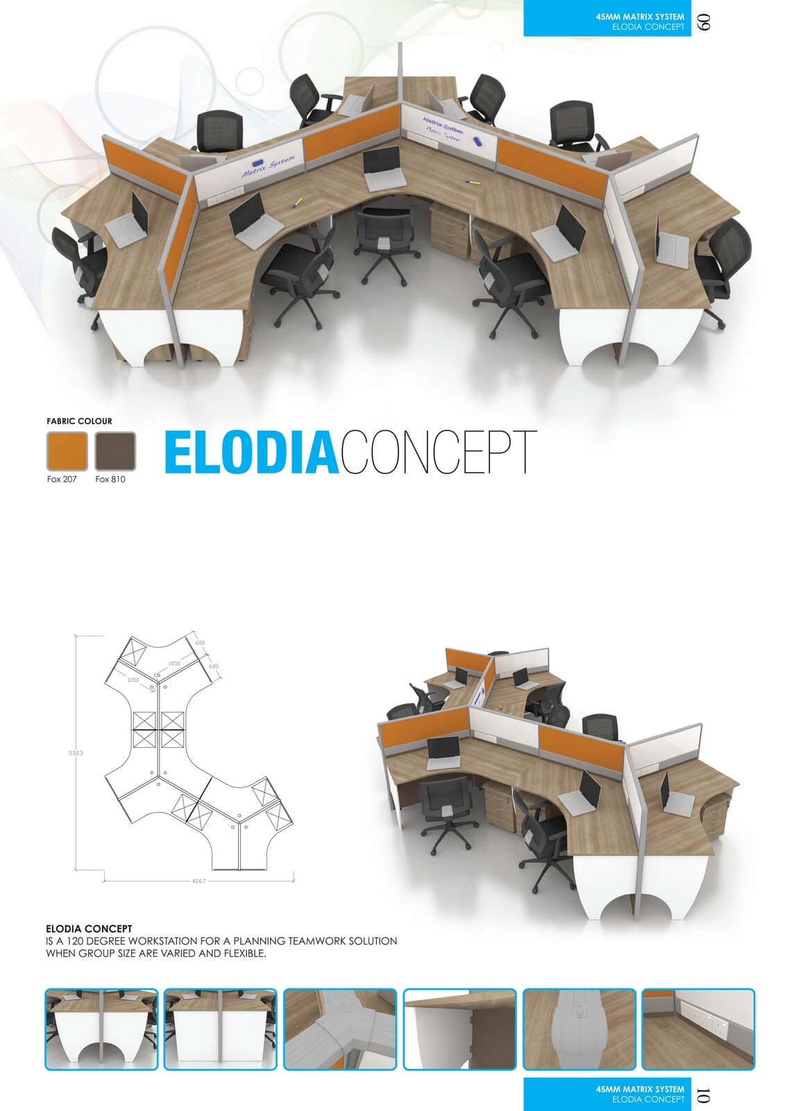 Office Workstation Elodia Concept