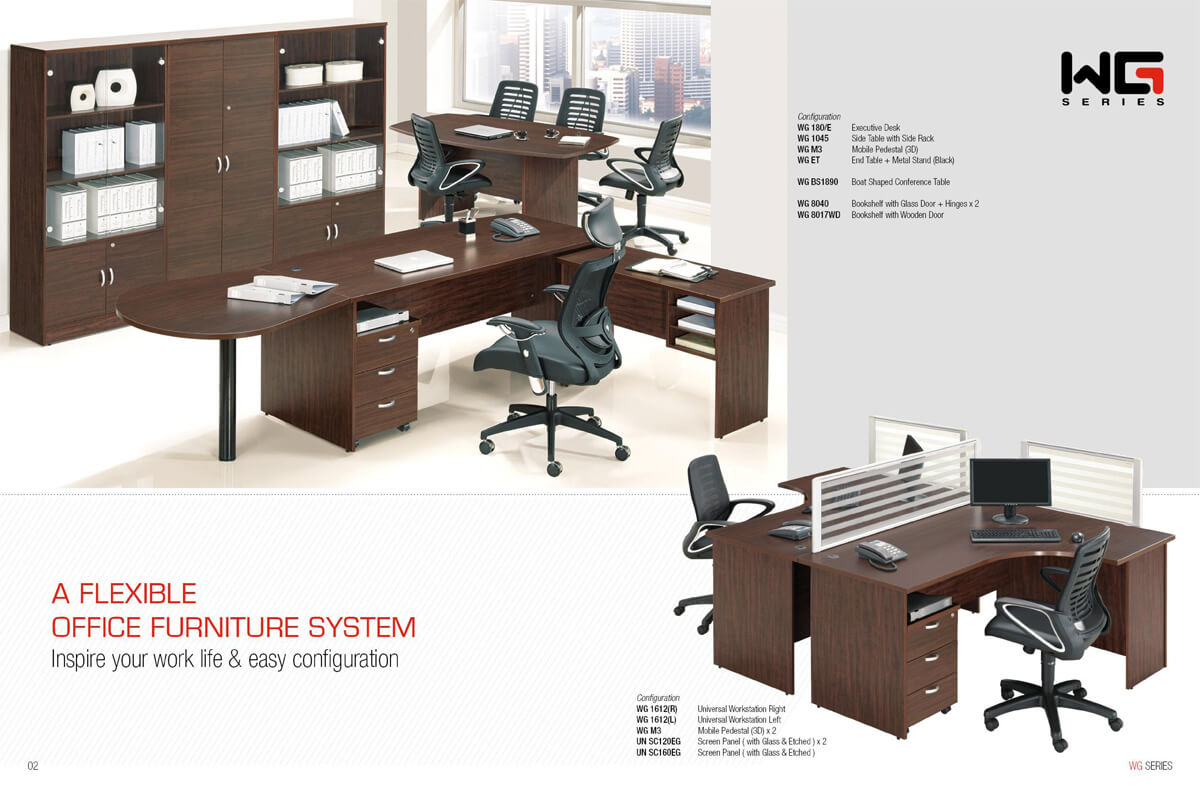 Standard Office Furniture Kuching Office Supplier Flexxo