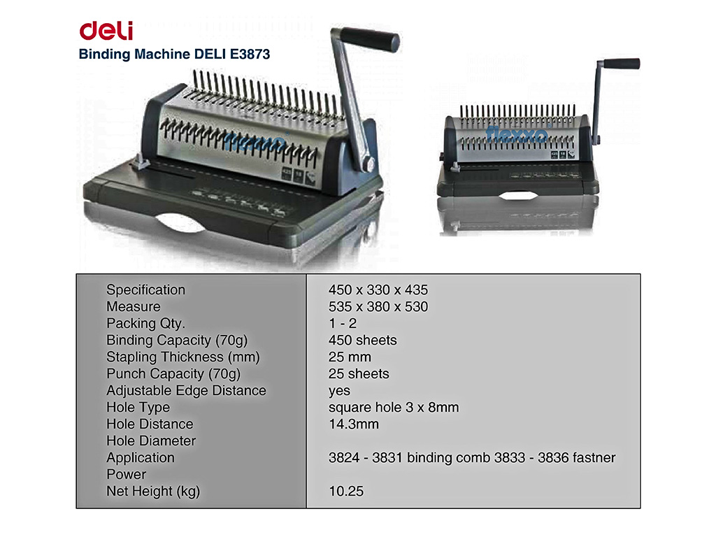 Binding Machine Deli E3873