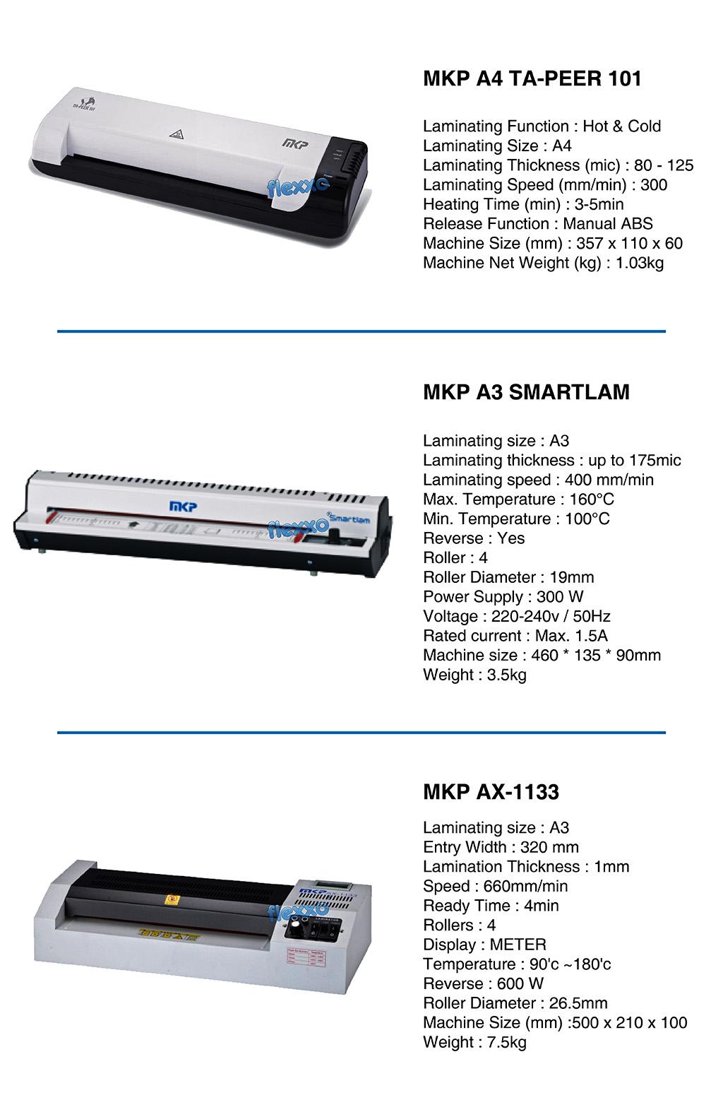 MKP Laminating Machine
