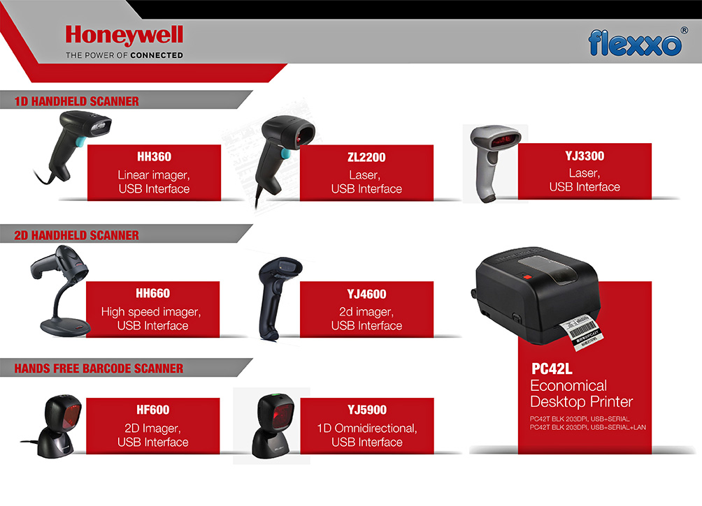 Barcode printer barcode scanner kuching office supplier flexxo barcode printer barcode scanner reheart Choice Image