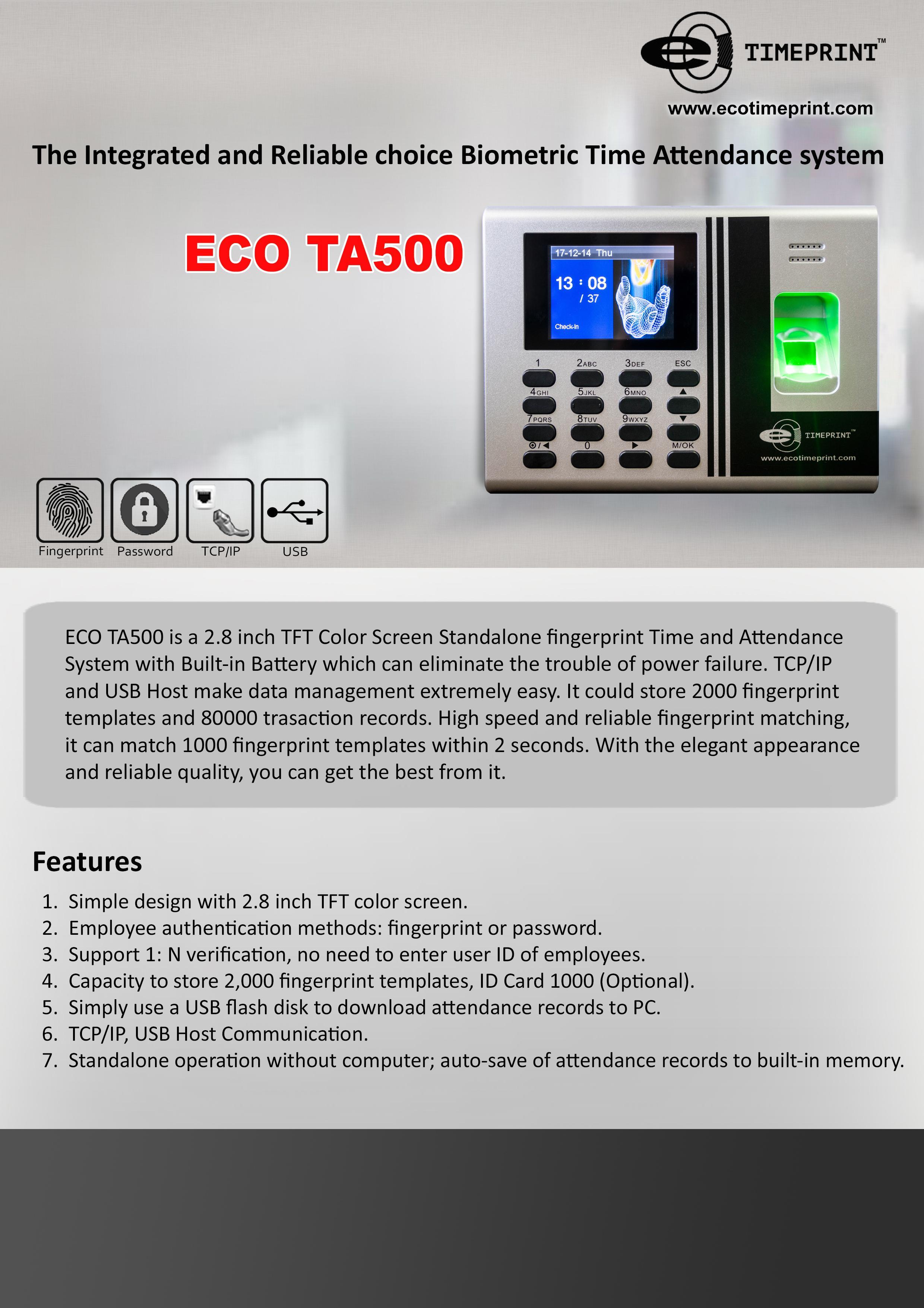 ECO TA500
