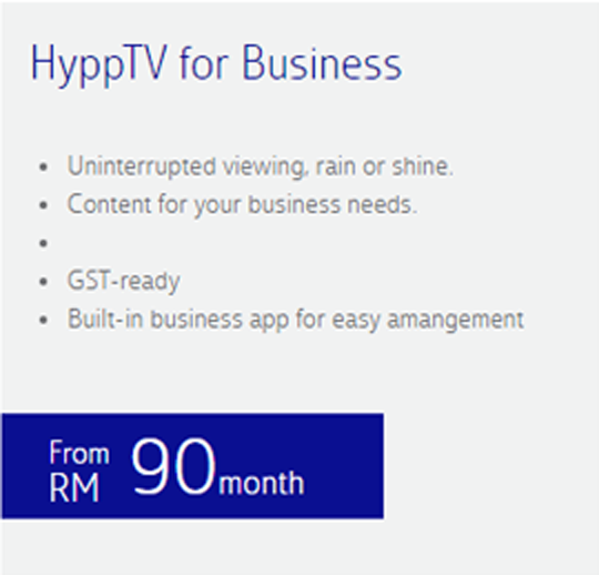 Unifi Biz Pro Plan - adds on