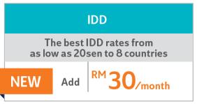 Unifi Biz Pro Plan - IDD